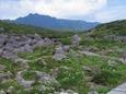 10.雲ノ平ギリシャ庭園からの水晶岳