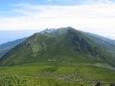 15.羅臼岳からの知床連峰