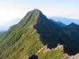 21.横岳稜線からの赤岳