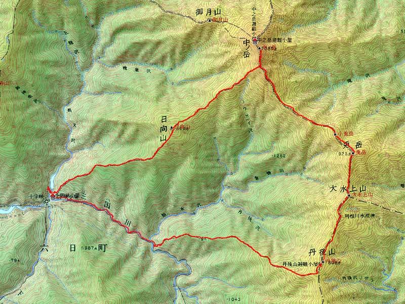 Nakanodake_map