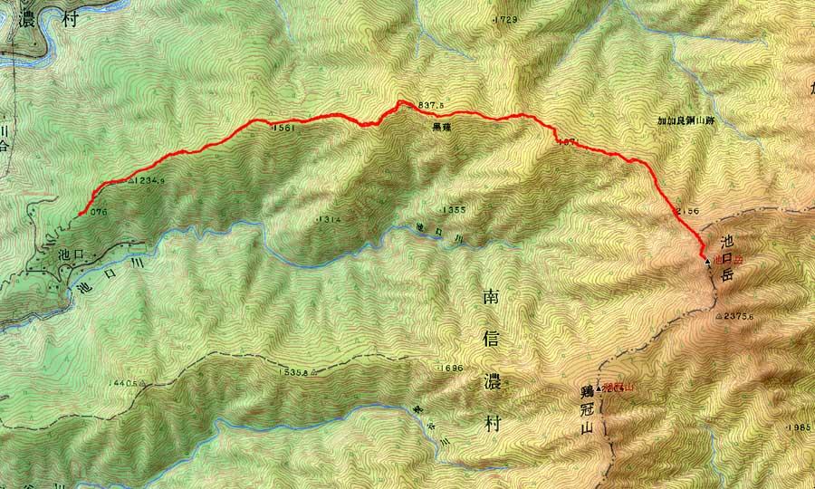 Ikeguchidake_map