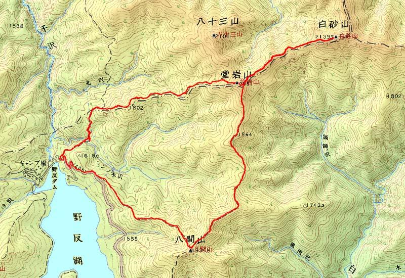 Shirosunayama_map