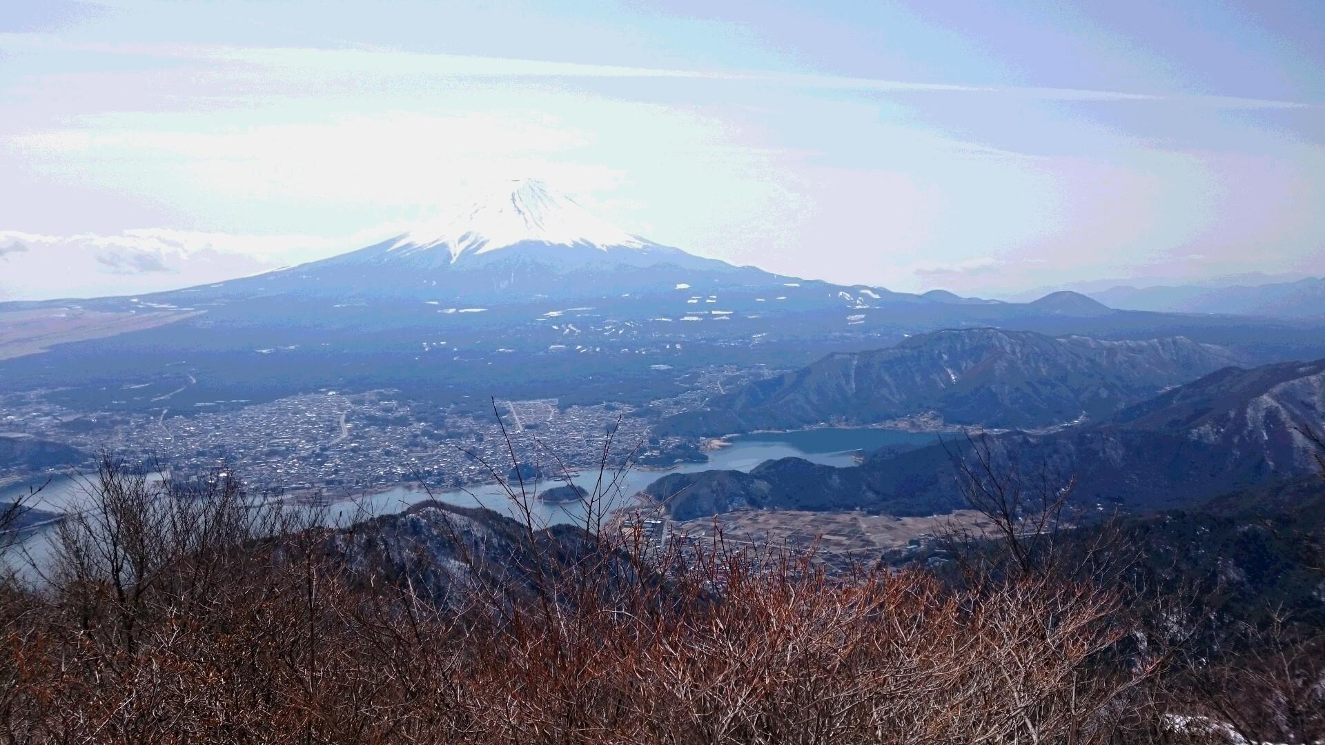 御坂黒岳にきてます